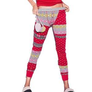 VICTORIAS SECRET Fireside Jane Soft Cozy Stretchy Pj Pajama Sleep Pants Leggings